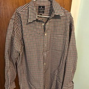 Stafford checkered button down shirt